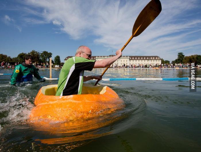Pumpkin Rafting