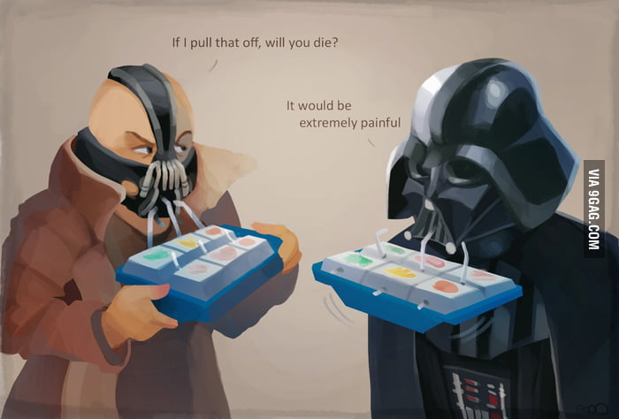 Bane's and Vader's problems