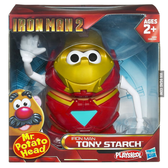 Mr Potato Head is Tony Starch