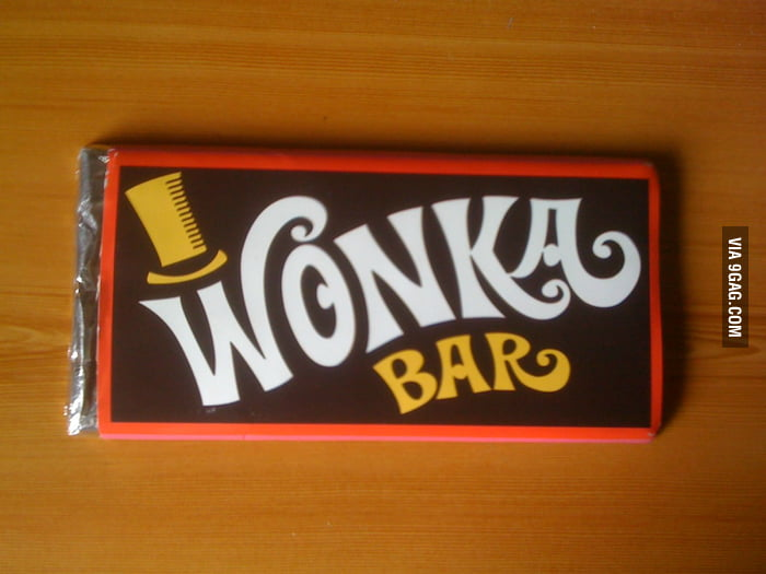 Hope I can get a golden ticket in this Wonka Bar!