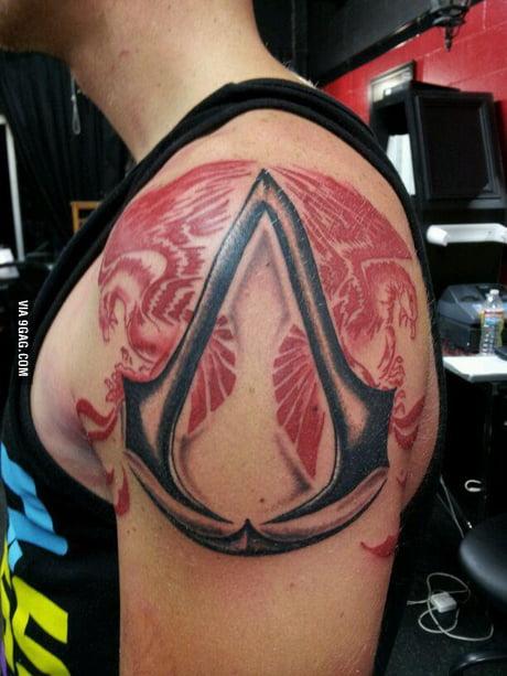 Assassin S Creed Tattoo 9gag