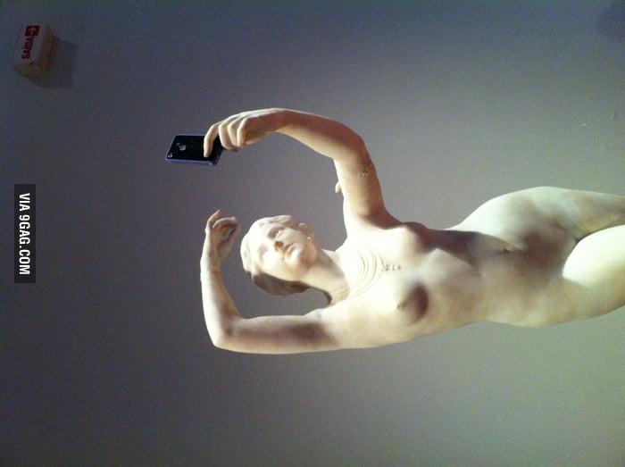 Selfie greek style