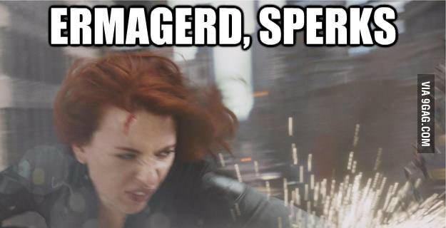ERMAGERD, SPERKS