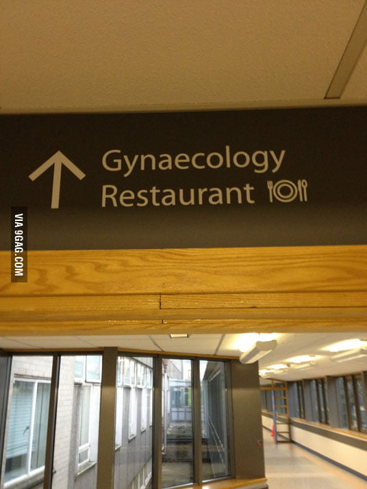 "What do they serve in ""Gynaecology Restaurant""?"