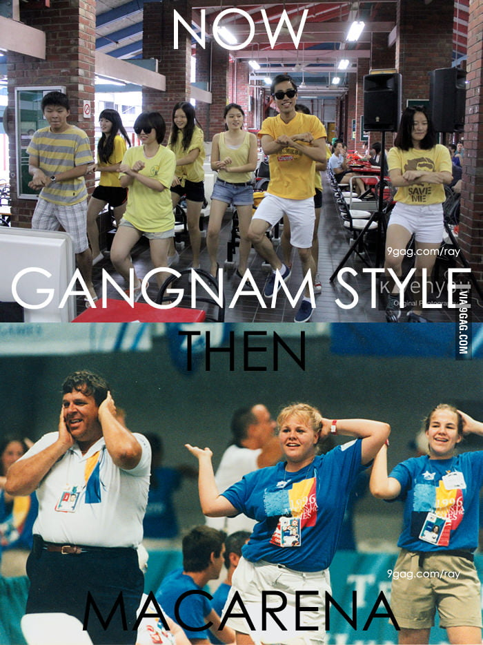 History repeats itself: Gangnam Style vs Macarena