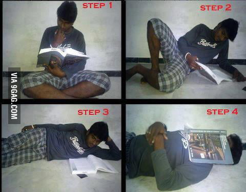 4 steps of studying