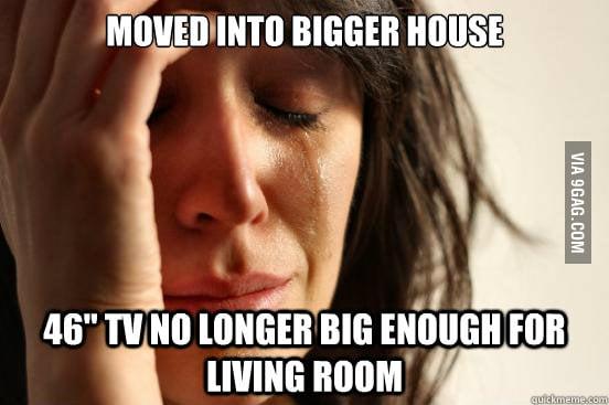 First World Big House Problem
