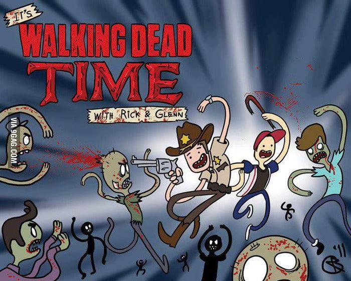 The Walking Dead Time!