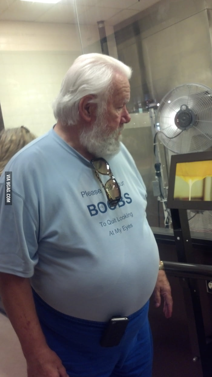 Santa wears inappropriate shirts in Vegas