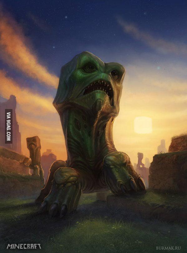 Real Life Minecraft Creeper 9gag