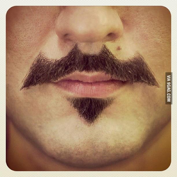 Batman mustache