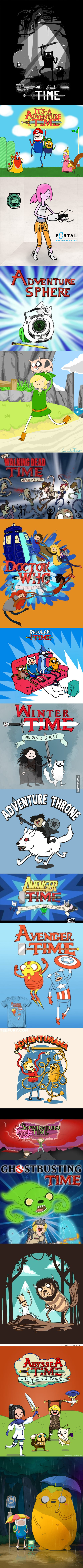 Adventure Time Crossovers