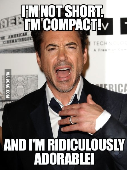 I'm just like Robert Downey Jr.