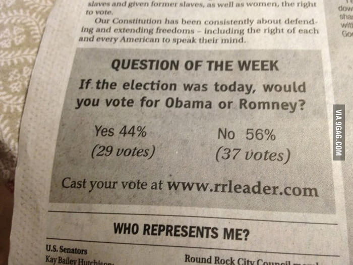 "What is wrong with this ""Question of the Week""?"