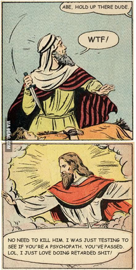 The Bible is weird