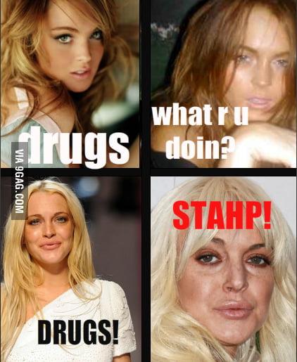 Lindsay....STAHP!