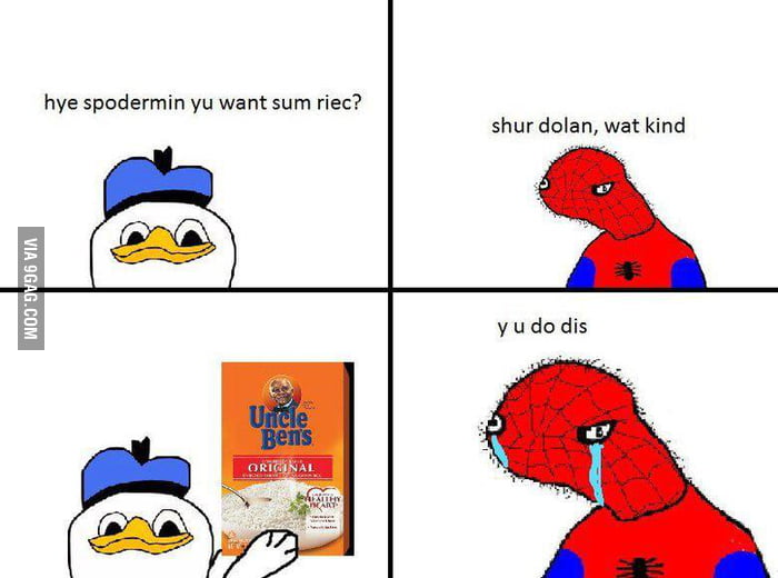 Dolan the duck strikes again!