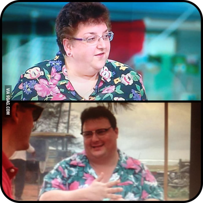 Just saw Dennis Nedry from Jurassic Park show up on BBC News