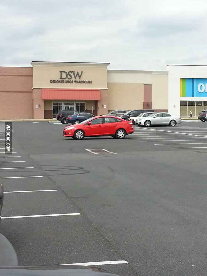 The best parking job ever.
