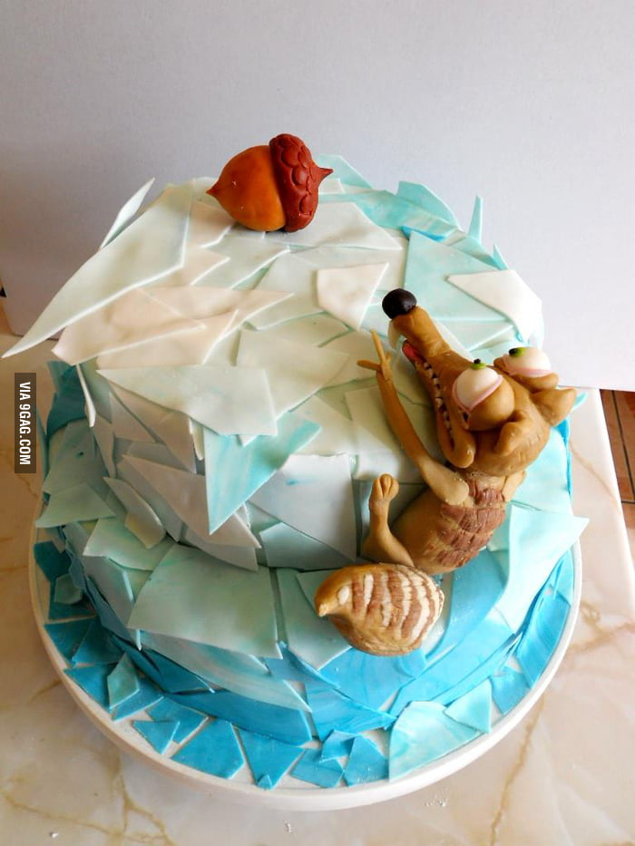 Best cake idea I've seen lately
