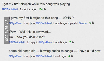 The Best Youtube Comment Thread Ever