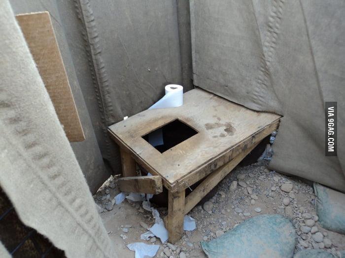Restroom in Afghanistan