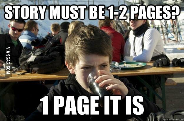 Lazy Elementary School Kid on homework requirement