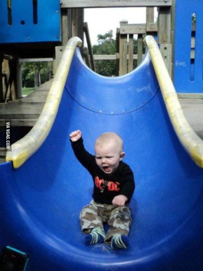 Slide rocks!