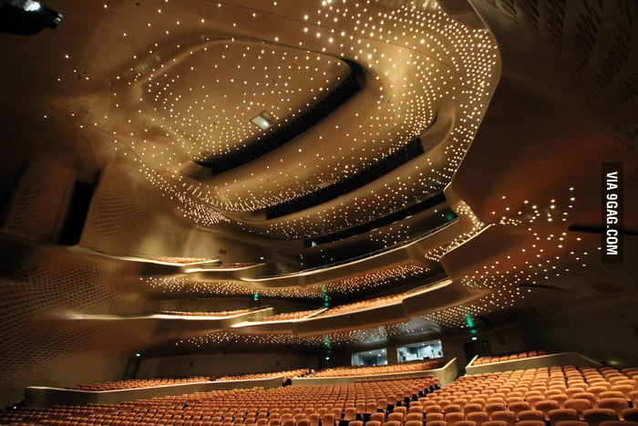 Awesome design Inside the Guangzhou Opera House.