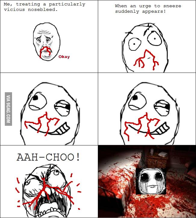 The Horror of Nosebleeds
