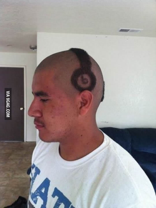 My friend just bought a headphone beats