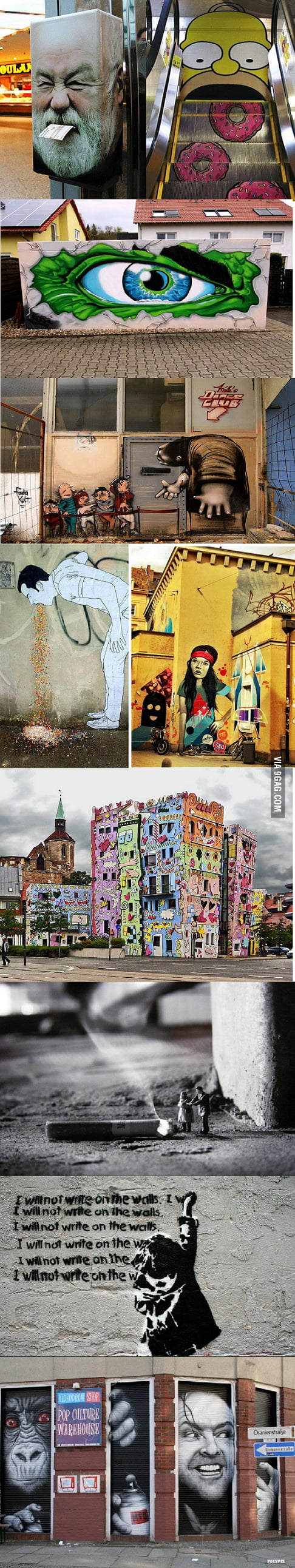 Awesome street art in Germany