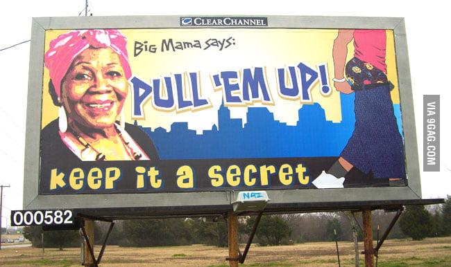 I agree with Big Mama