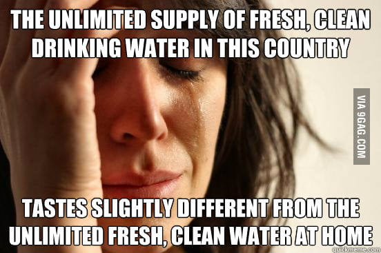 First World Water Problems