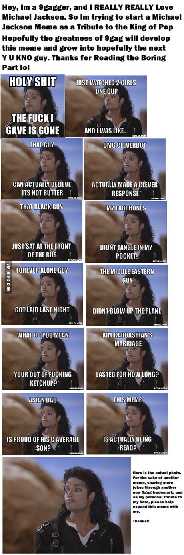 New Shocked Michael Jackson Meme 9gag