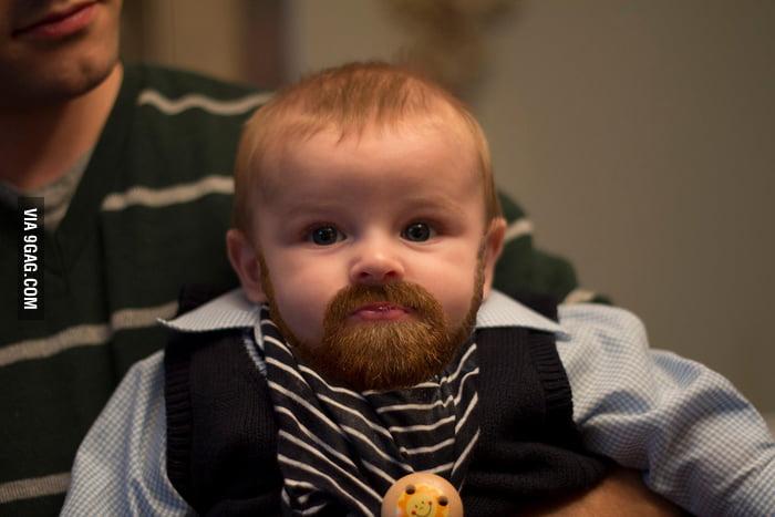Beards make everything manly