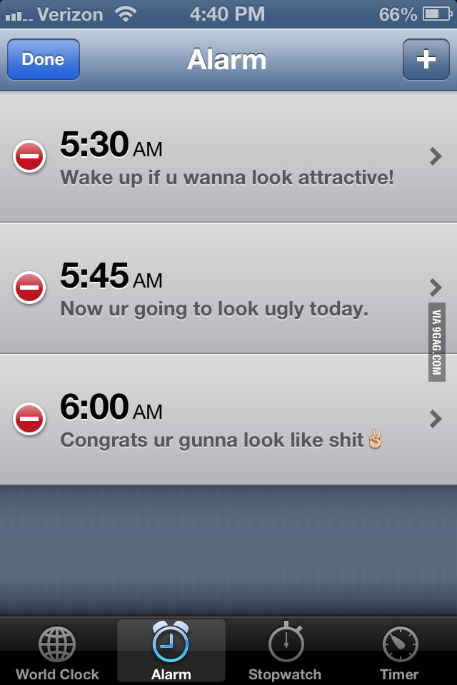 How my girlfriend gets motivated to get up for school