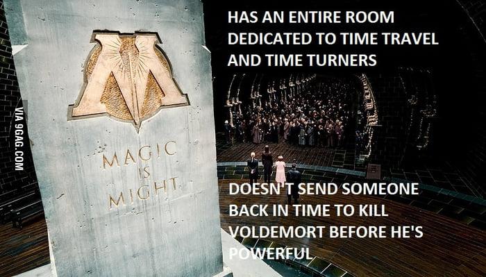 Scumbag Ministry of Magic