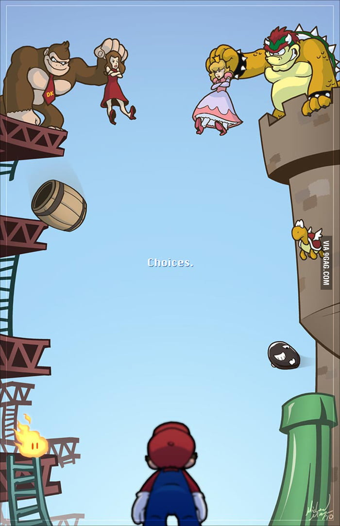 Mario's Choice