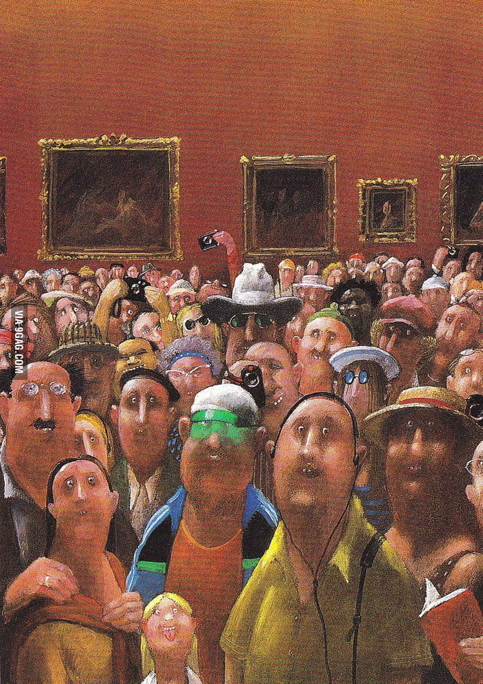 Mona Lisa's Point of View
