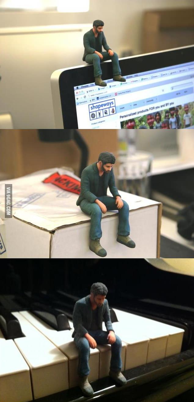 Sad Keanu Figure