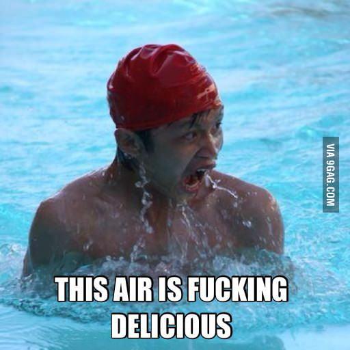 How I feel when I swim