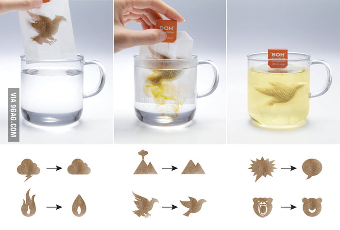 Amazing Tea Bag Design
