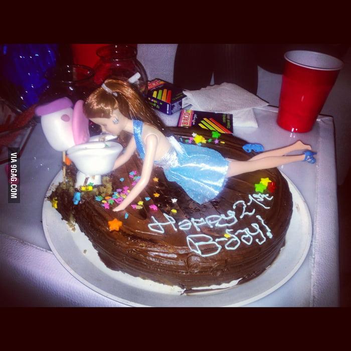 Awesome 21 Birthday Cake