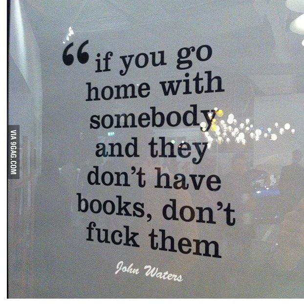 John Waters relationship advice