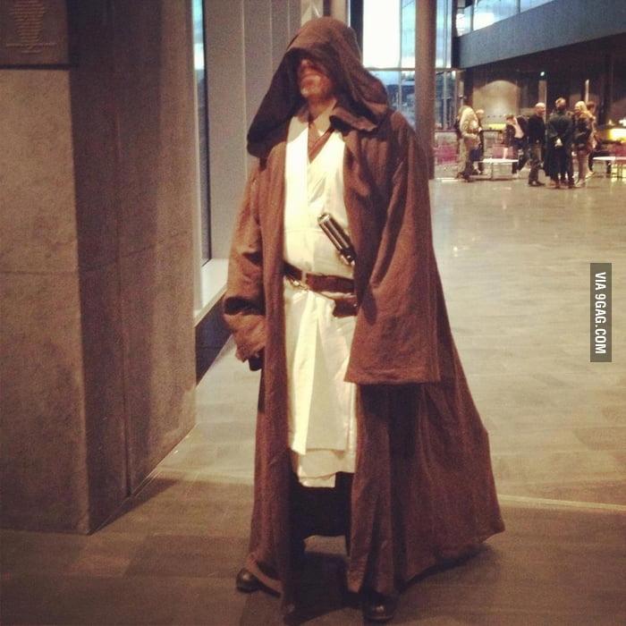 Mayor of Reykjavik, Iceland dressed as a Jedi.