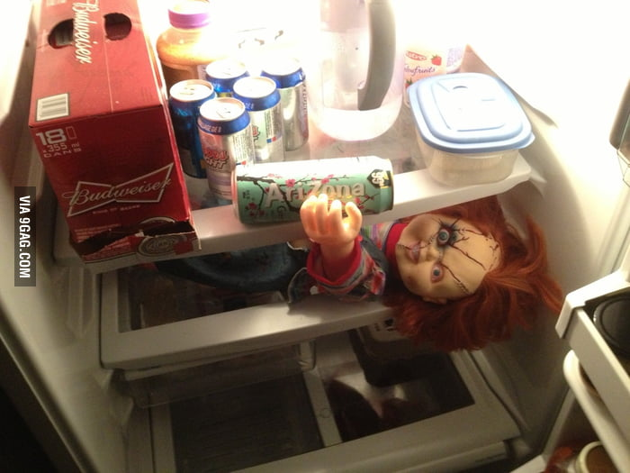 What I saw in the fridge this morning.