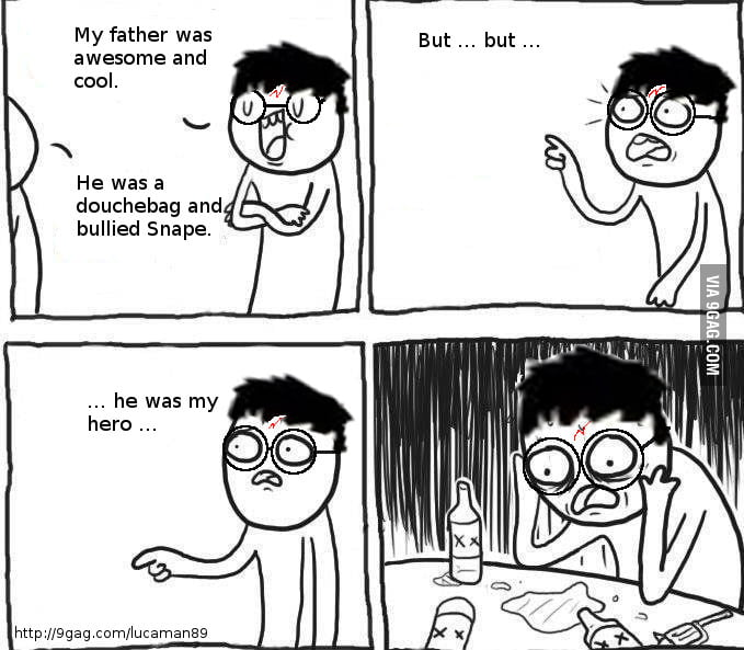 True story of James Potter