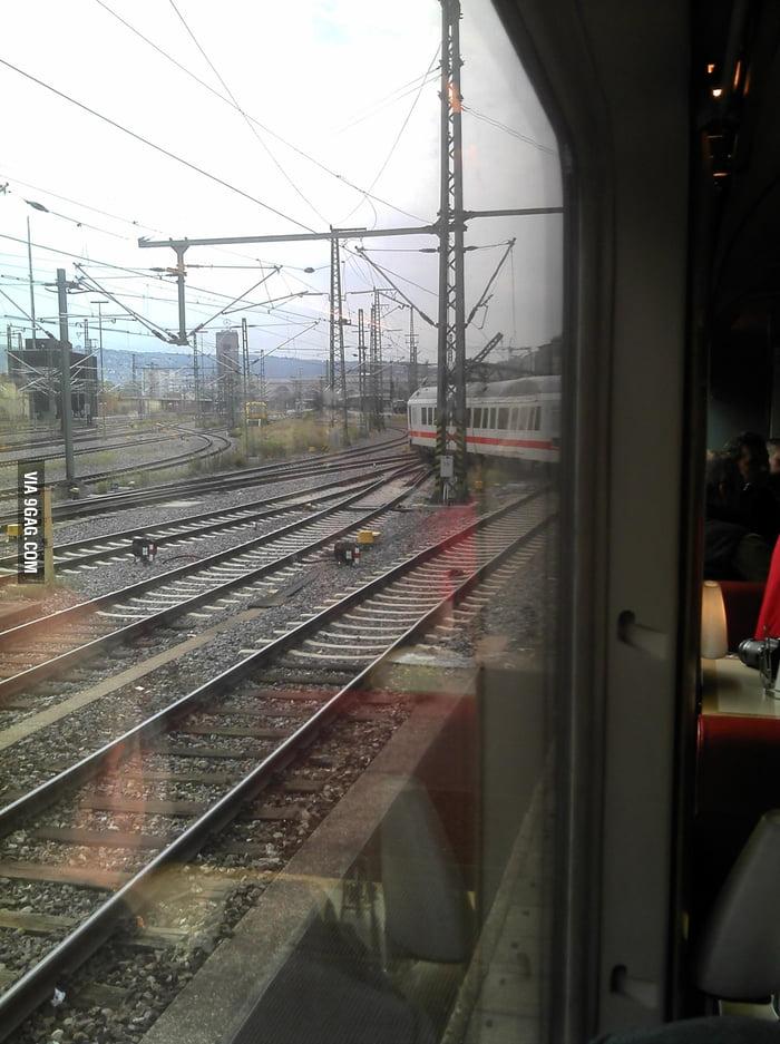 My train got derailed (Stuttgart, Germany)