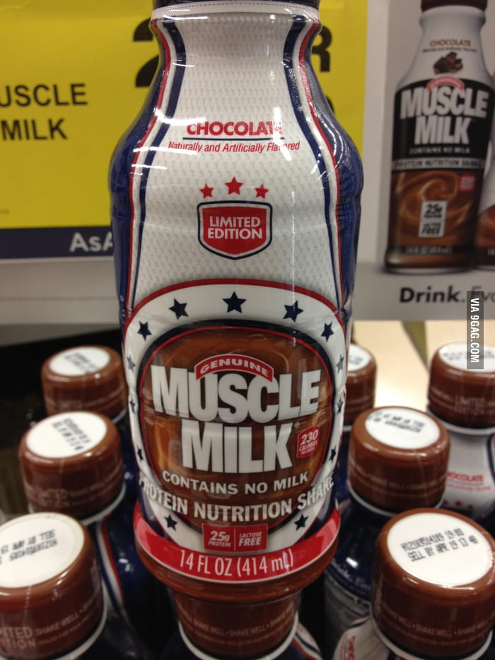 Muscle milk. Contains no milk.